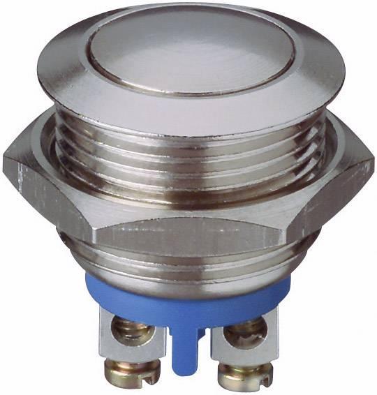 Stláčacie tlačidlo s ochranou pred vandalmi APEM AV1630C900, 48 V/DC, 0.2 A, kov, 1 ks