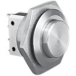 Tlačítko antivandal Bulgin MP0038/2, 250 V/AC, 5 A, nerezová ocel, 1 ks