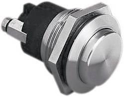 Stláčacie tlačidlo s ochranou pred vandalmi Bulgin MP0037/2, 50 V, 1 A, nerezová oceľ, 1 ks