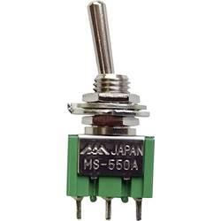 Pákový spínač TRU COMPONENTS MS-550F-B, 250 V/AC, 1.5 A, 1 ks