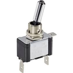 Páčkový přepínač do auta TRU COMPONENTS TC-R13-404L BL LED, 12 V/DC, 20 A, s aretací, 1 ks