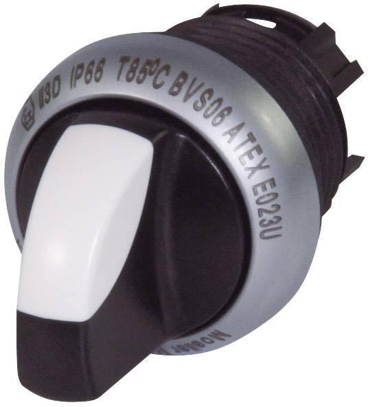 Tlačidlo voľby Eaton M22-WK3, 2 x 40 °, čierna, 1 ks