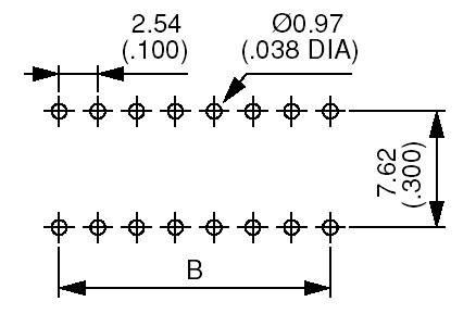 DIP spínač APEM DP-06, (š x v) 10,8 mm x 10,2 mm, (1 min) 500 V/DC