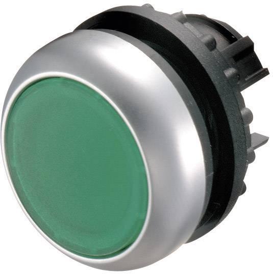 Tlačidlo Eaton M22-DL-G, zelená, 1 ks