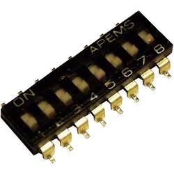 DIP spínač SMD IKL0803000, Pólů 8, 1 ks