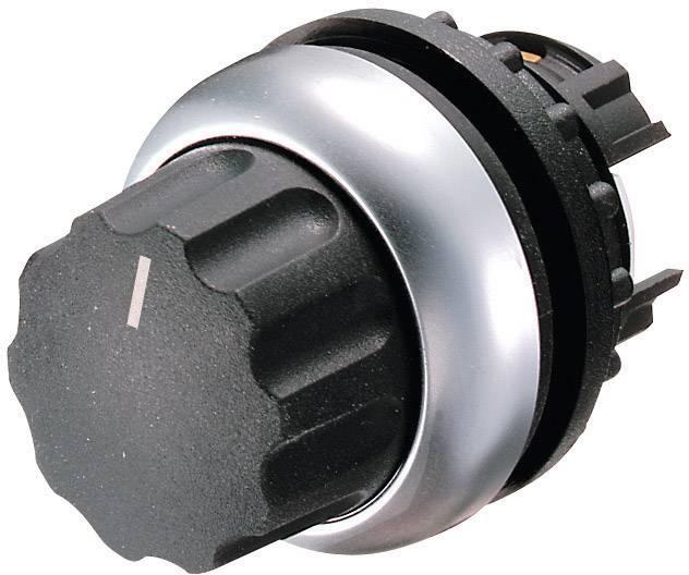 Tlačidlo voľby Eaton M22-WR4, 3 x 40 °, čierna, 1 ks