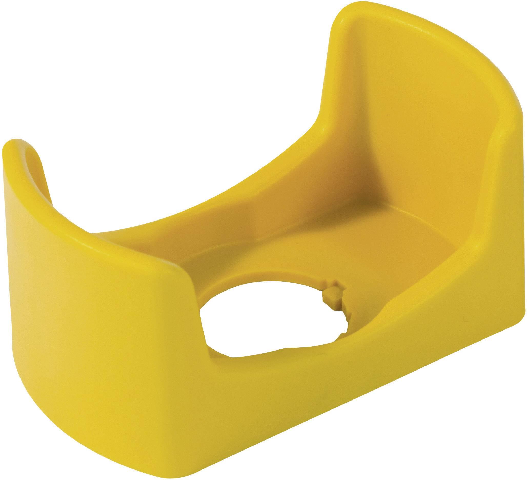 Ochrana tlačidla Idec HW9Z-KG3 HW9Z-KG3, (š x h) 74 mm x 42 mm, žltá, 1 ks