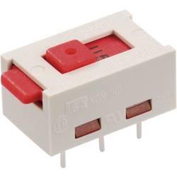 Posuvný přepínač Arcolectric 250 V/AC 6 A 2x zap/zap X22205CAAF 1 ks