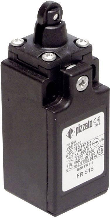 Koncový spínač Pizzato Elettrica FR 515-M2, 250 V/AC, 6 A, otočný kladkový piest , bez aretácie, IP67, 1 ks