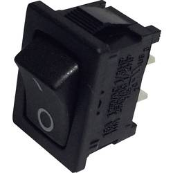 Kolébkový spínač s aretací TRU COMPONENTS TC-R13-66A-02, 250 V/AC, 6 A, 1x vyp/zap, 1 ks