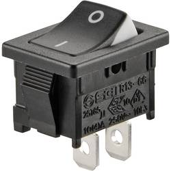Kolébkový spínač s aretací TRU COMPONENTS TC-R13-66A3-02, 250 V/AC, 6 A, 1x vyp/zap, 1 ks