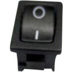 Kolébkový spínač bez aretace TRU COMPONENTS TC-R13-66E-02, 250 V/AC, 6 A, 1x zap/(vyp), 1 ks