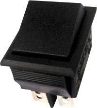 Kolískový spínač s aretáciou TRU COMPONENTS TC-R13-69C-01, 250 V/AC, 10 A, 2x zap/zap, 1 ks