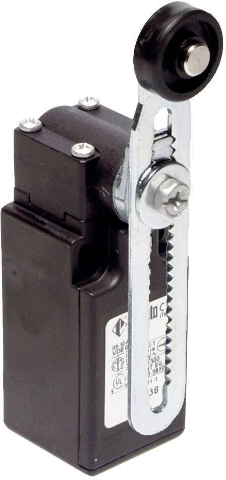 Koncový spínač Pizzato Elettrica FR 556-M2, 250 V/AC, 6 A, hydraulické zdvíhadlo , bez aretácie, IP67, 1 ks