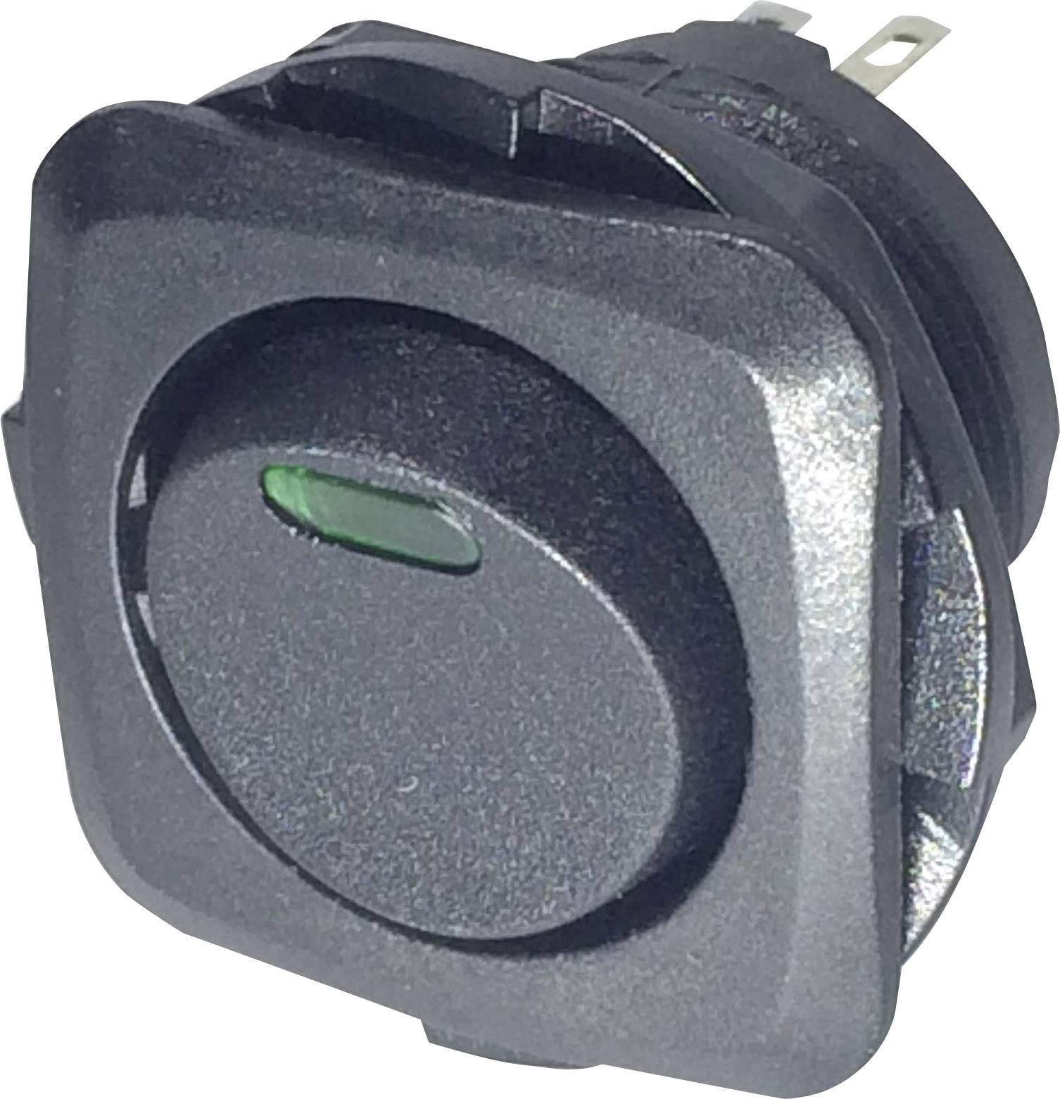 Kolískový spínač s aretáciou SCI R13-135L-02, 250 V/AC, 10 A
