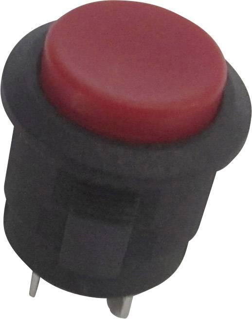 Tlačidlový spínač SCI R13-523B-05RT, 250 V/AC, 1.5 A, 1 ks