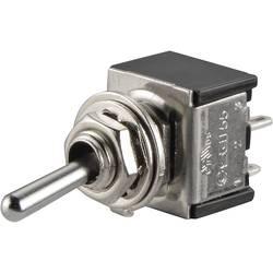 Páčkový spínač TRU COMPONENTS TC-TA201A1, 250 V/AC, 3 A, 2x vyp/zap, 1 ks