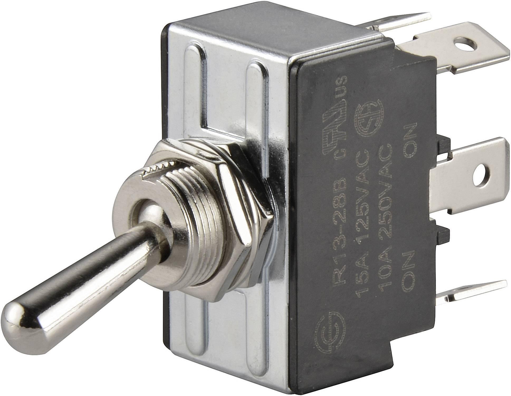 Pákový spínač SCI R13-28B-01, 250 V/AC, 10 A, 1 ks