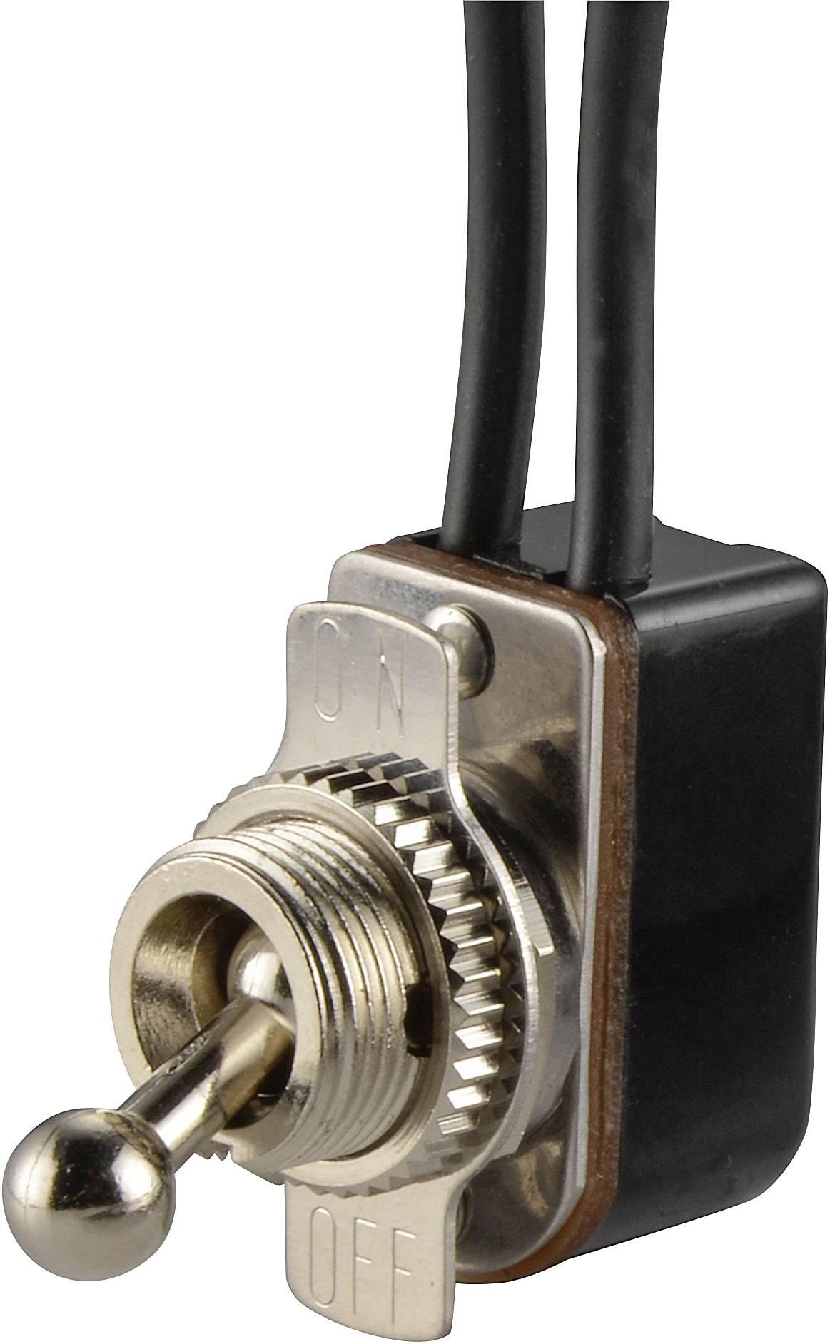 Pákový spínač SCI R13-36A1-11, 250 V/AC, 3 A, 1 ks