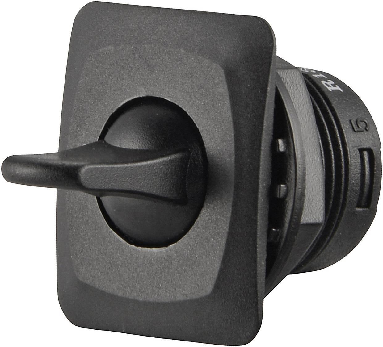 Klopný spínač SCI R13-402A-05, 250 V/AC, 3 A, 1x vyp/zap, 1 ks