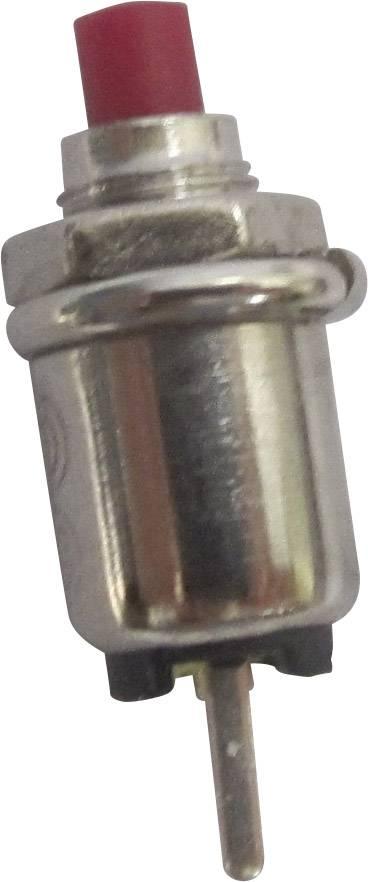 Stláčacie tlačidlo SCI R13-81A-05RT, 125 V/AC, 0.5 A, 1 ks