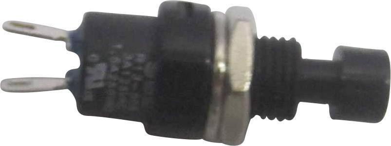 Stláčacie tlačidlo SCI R13-509A-05BK, 250 V/AC, 1.5 A, 1 ks