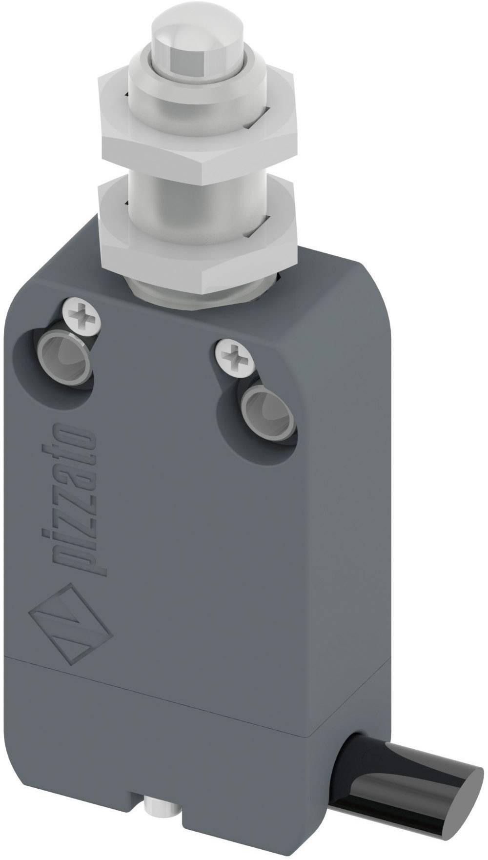 Polohový spínač Pizzato Elettrica NF B110EB-DN2, 250 V/AC, 4 A, kabel bez konektorů, 2 m