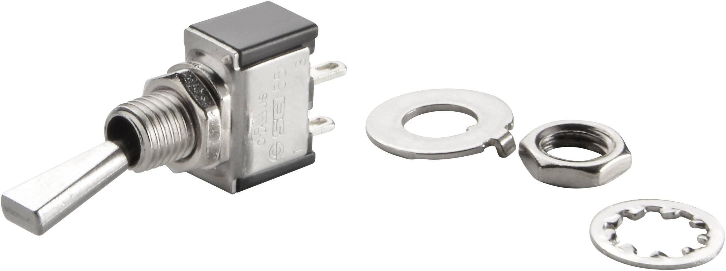 Pákový spínač TRU COMPONENTS TC-TA101F1, 250 V/AC, 3 A, 1 ks