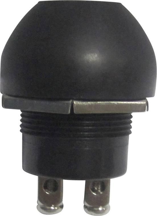 Štartovacie tlačidlo TRU COMPONENTS TC-A2-5B, 24 V/DC, 10 A, bez aretácie, 1 ks