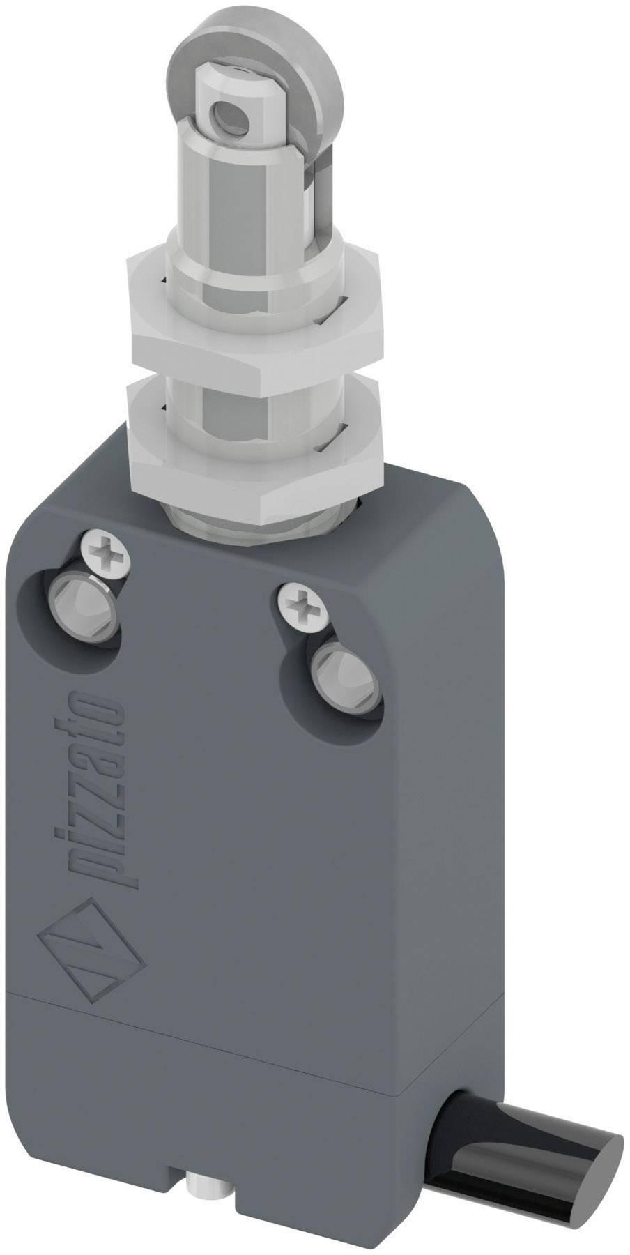 Koncový spínač Pizzato Elettrica NF B110FB-DN2, 250 V/AC, 4 A, otočný kladkový piest , bez aretácie, IP67, 1 ks