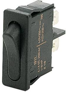 Kolískový spínač s aretáciou Marquardt 1911.1102, 250 V/AC, 6 A