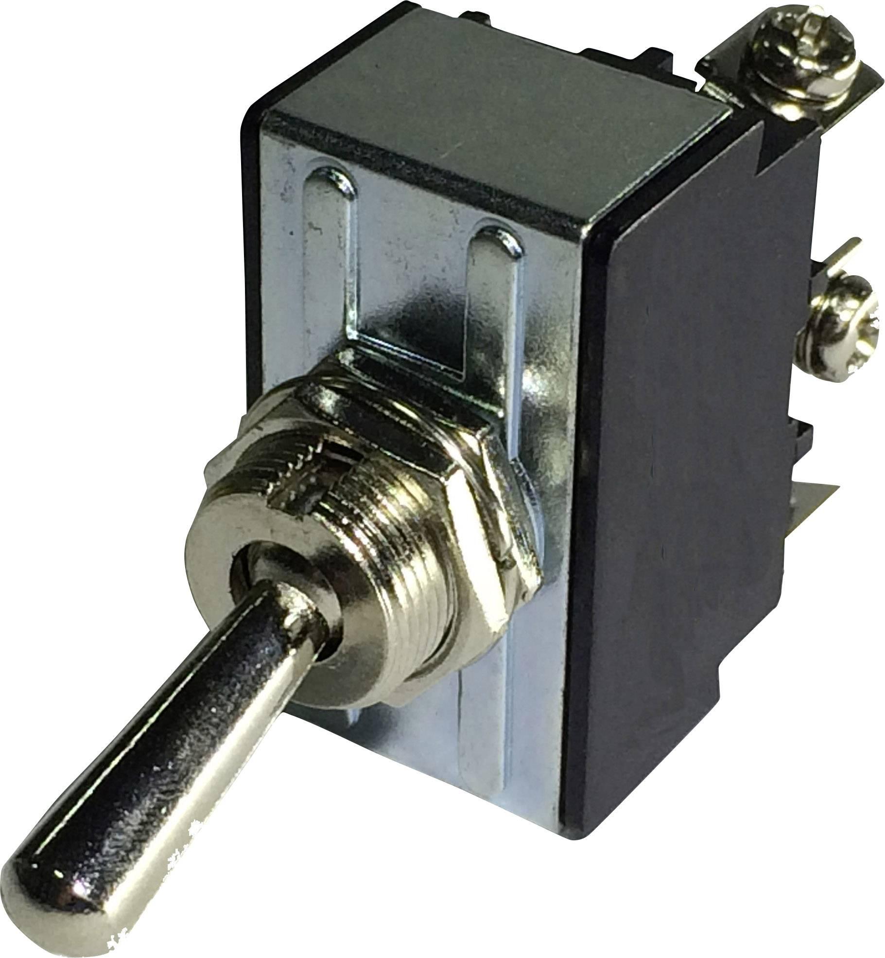 Pákový spínač SCI R13-28A-06, 250 V/AC, 10 A, 1 ks