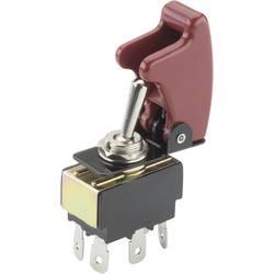 Páčkový spínač TRU COMPONENTS TC-R13-28B06/R17-10, 250 V/AC, 10 A, 2x zap/zap, 1 ks