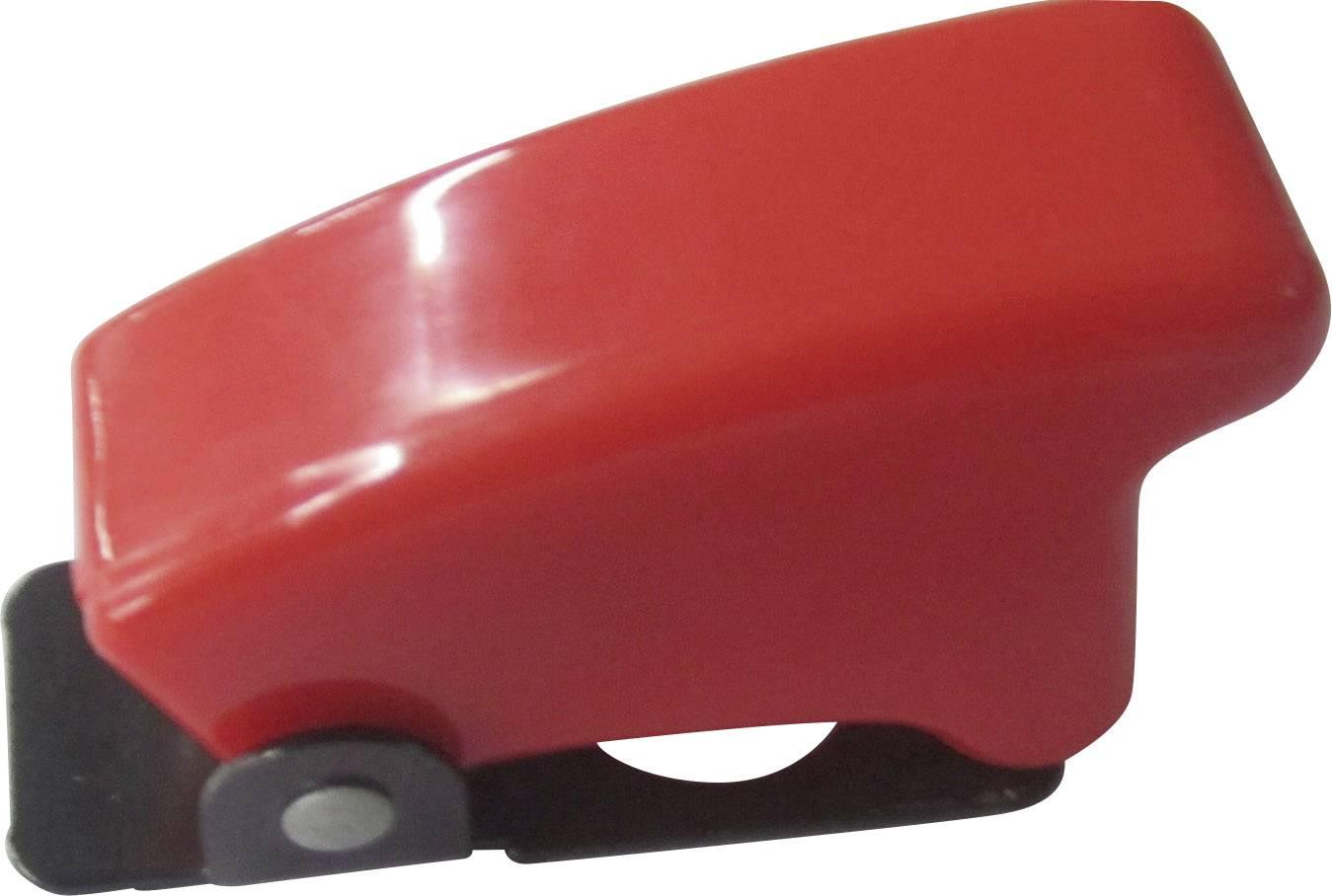 Bezpečnostní kryt TRU COMPONENTS TC-R17-10 RED, červená, 1 ks