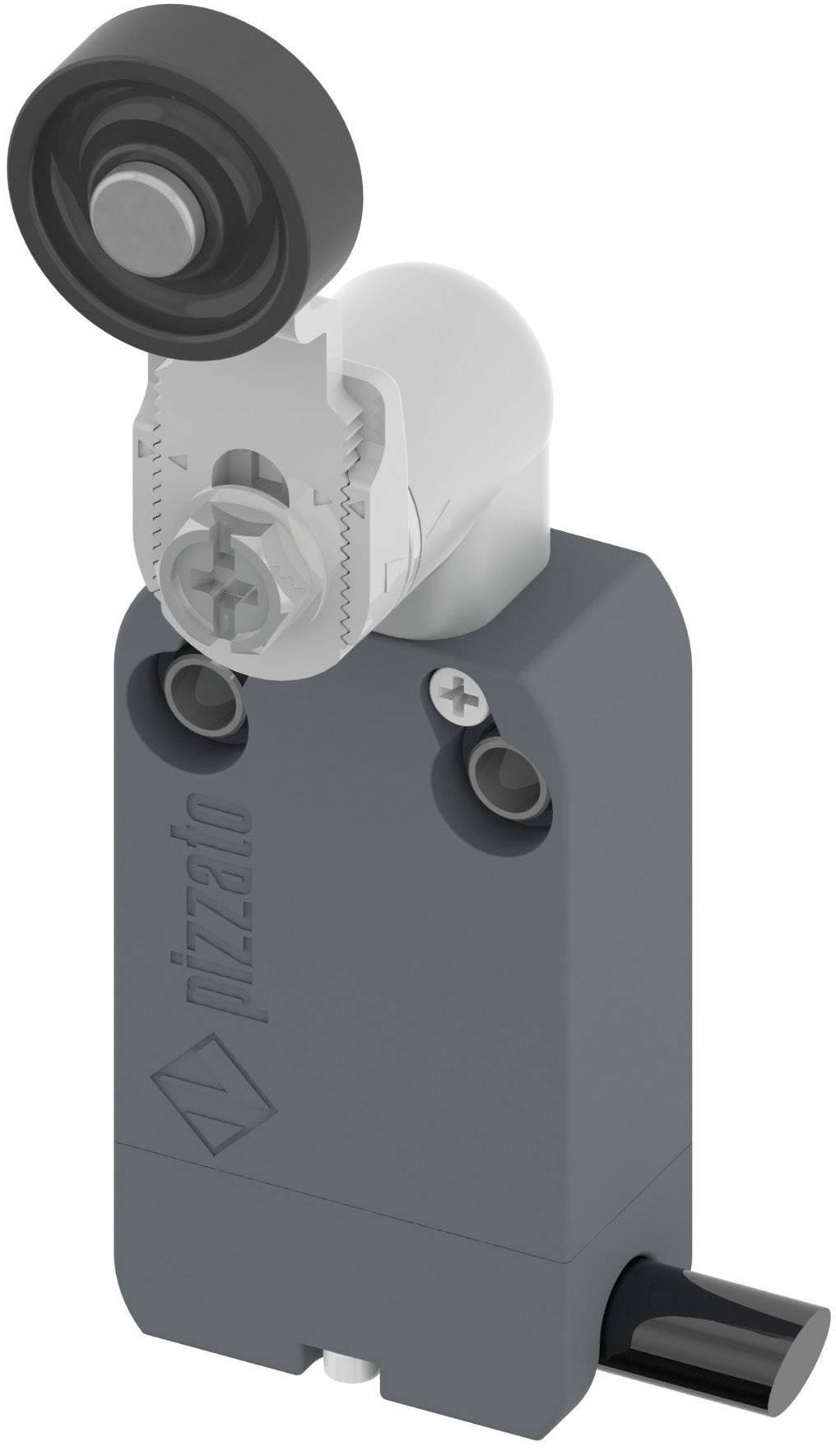 Polohový spínač Pizzato Elettrica NF B112KG-DN2, 250 V/AC, 4 A, kabel bez konektorů, 2 m