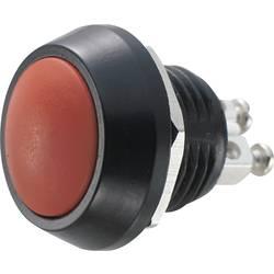 Tlačítko antivandal TRU COMPONENTS GQ12B-A, RD, 48 V/DC, 2 A, 1 ks