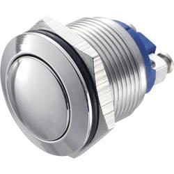 Tlačítko antivandal TRU COMPONENTS GQ 19B-S, 48 V/DC, 2 A, nerezová ocel, 1 ks