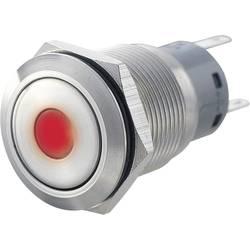 Tlačítkový spínač antivandal TRU COMPONENTS LAS1-AGQ11ZD, RD, 250 V/AC, 5 A, nerezová ocel, 1 ks