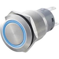 Tlačítko antivandal TRU COMPONENTS LAS1-AGQ-11E, BL, 250 V/AC, 5 A, nerezová ocel, 1 ks