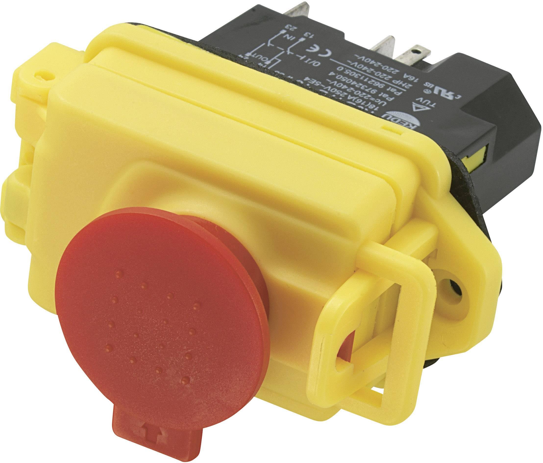 Elektromagnetický přepínač KJD17B-16, 250 V/AC, 18 A, 1x vyp/zap