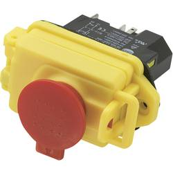 Magnetický spínač TRU COMPONENTS KJD17B-16, 250 V/AC, 18 A, červená, žltá, 1 ks
