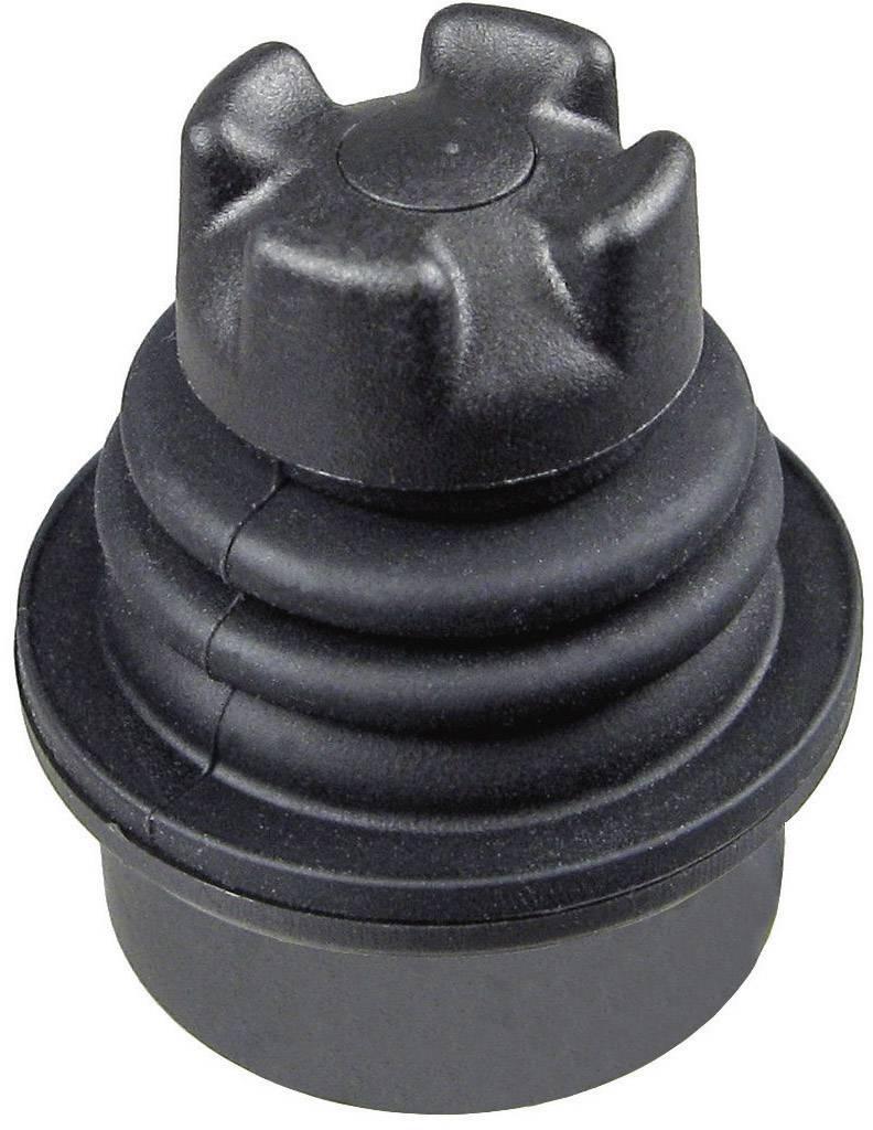 Joystick APEM TS-AA2S00A, 25,40 mm, 5 V, 0,032 A, kabel bez konektorů, černá