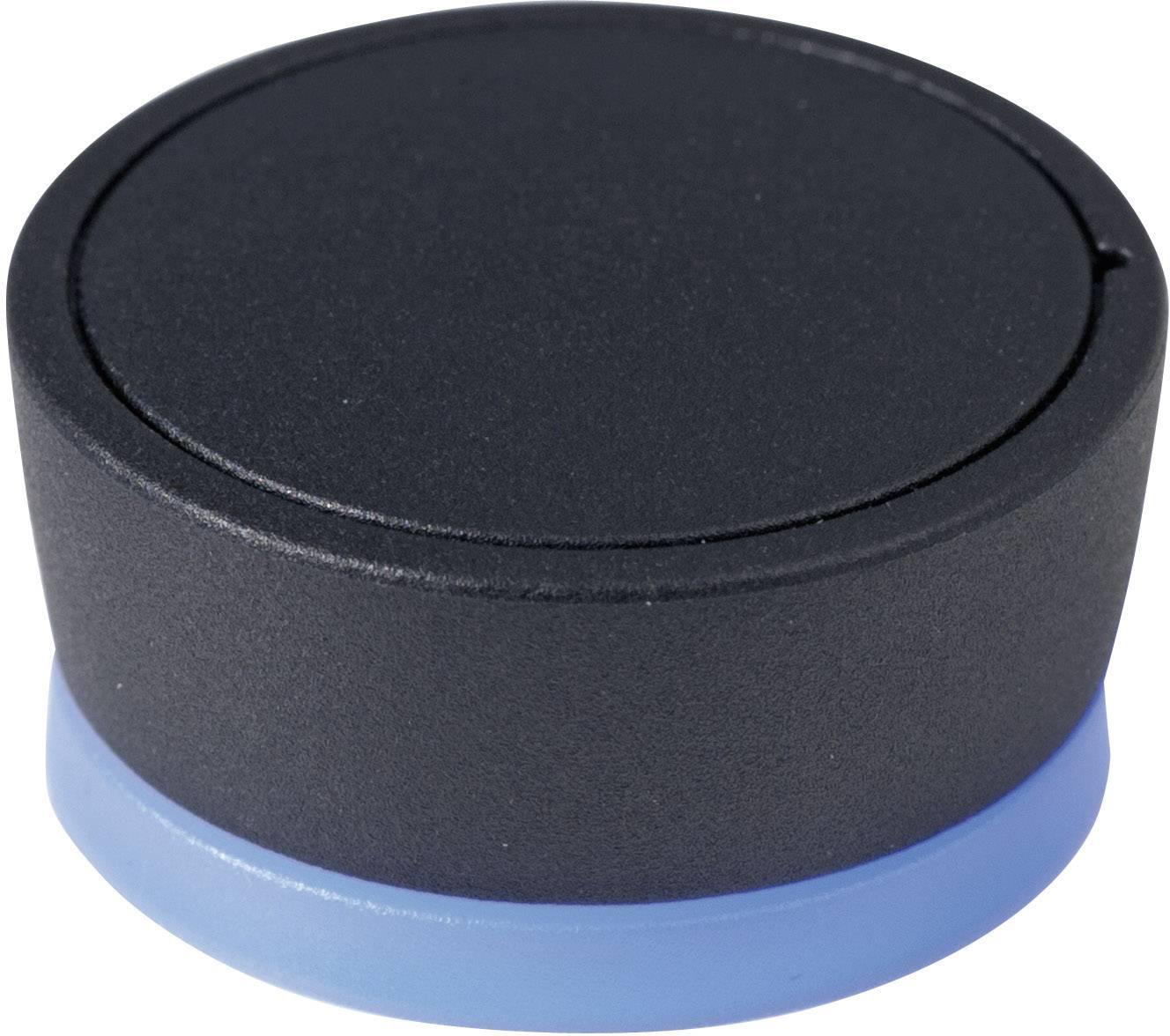 Ovládácí knoflík OKW D8733019, 6 mm, podsvícení RGB, černá