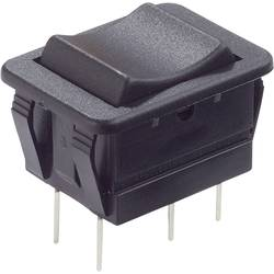 Kolébkový spínač bez aretace/0/bez aretace Arcolectric C1572VBAAC, 250 V/AC, 16 A