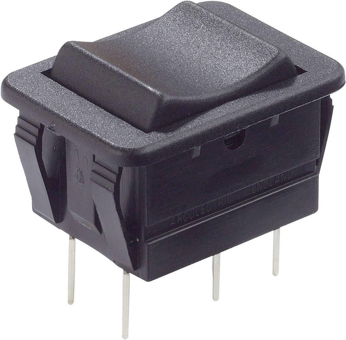 Kolískový spínač s aretáciou Arcolectric C1560VBAAD, 250 V/AC, 16 A