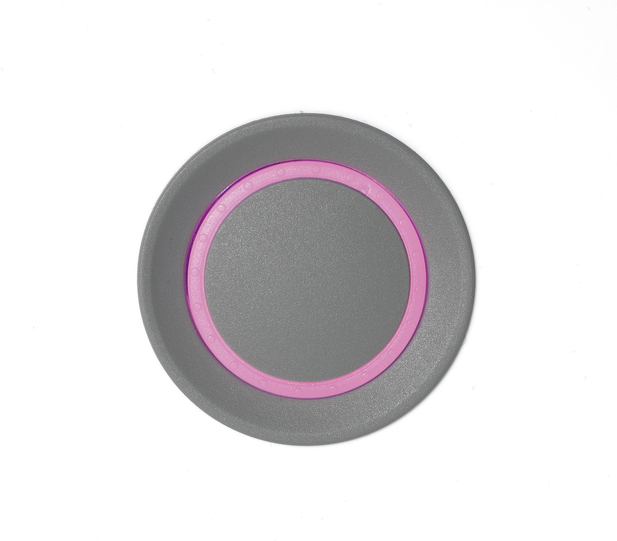 Otočný gombík OKW D8733028, (Ø x v) 33 mm x 26 mm, vulkán, 1 ks