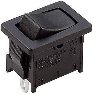 Kolískový spínač s aretáciou/0/s aretáciou A125B11000000, 250 V/AC, 10 A, 1x zap/vyp/zap, 1 ks