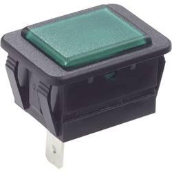 Signalizační světlo Arcolectric C0480ABNAC, zelená, černá, 1 ks