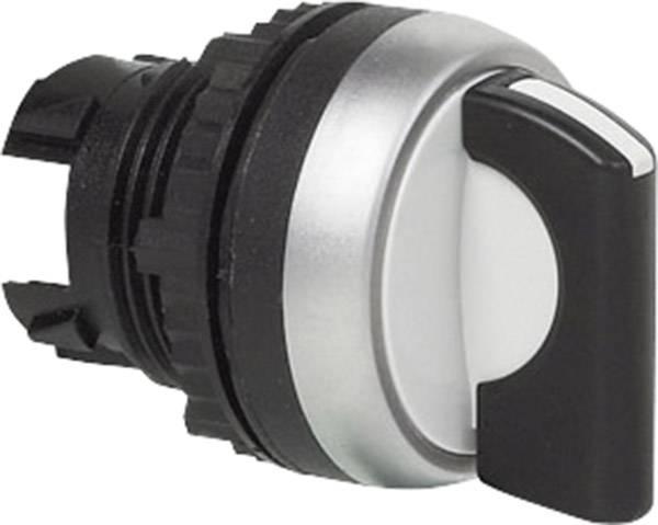 Tlačidlo voľby BACO L21MD03, 2 x 45 °, čierna, 1 ks