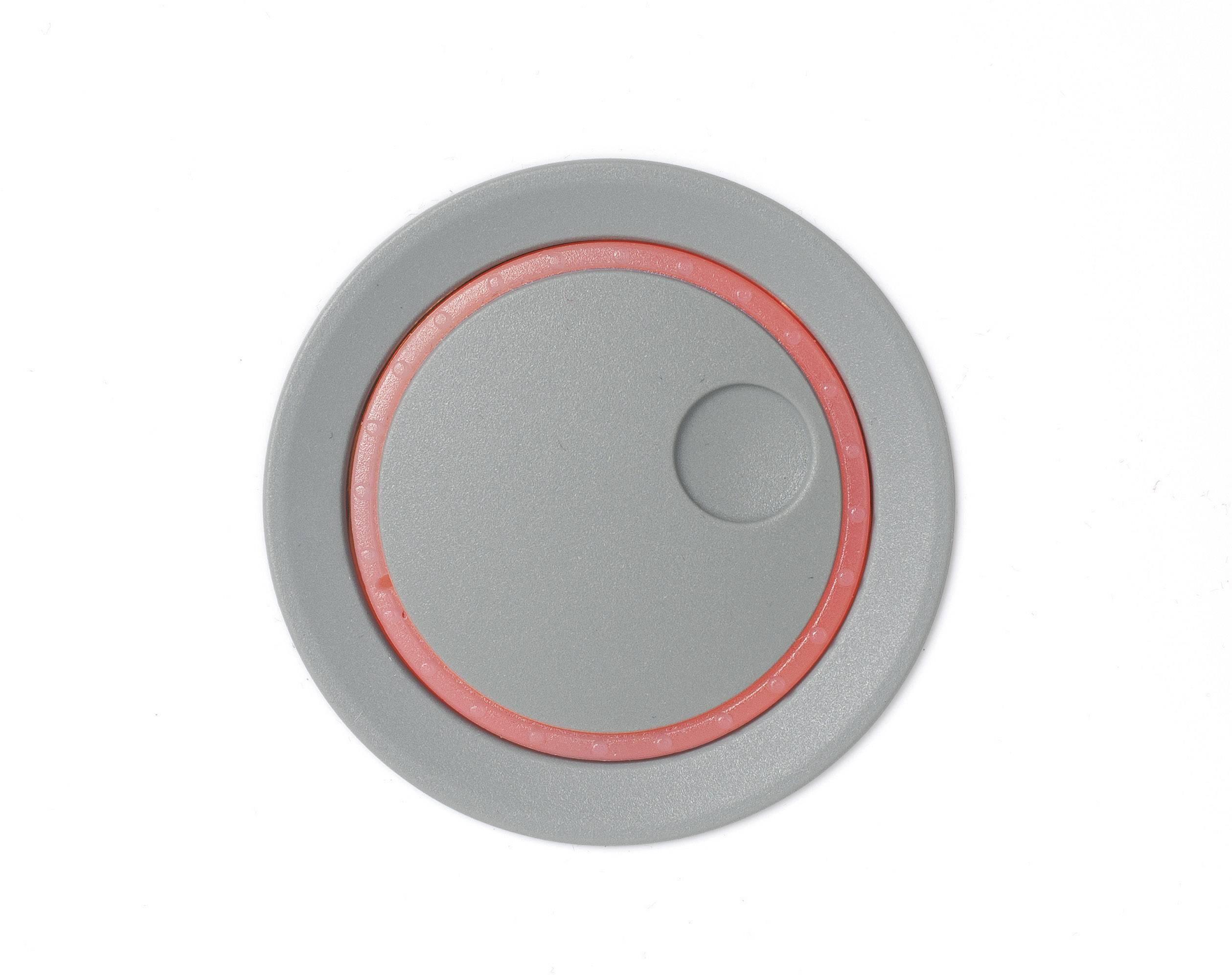 Otočný gombík OKW D8741028, (Ø x v) 41 mm x 21 mm, vulkán, 1 ks